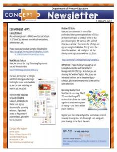 newsletter February 2017 1