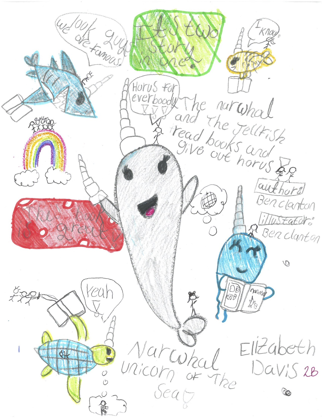 Elizabeth Davis-Second Grade 2nd place-